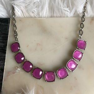 Lia Sophia Infinite Me Necklace - pink diamond